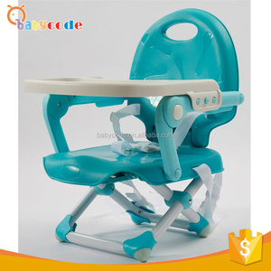 Light Wight Easy Folding Portable Plastic Baby Booster Chair