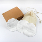 Soft Round Facial Cleansing Washable reusable Cotton Pad