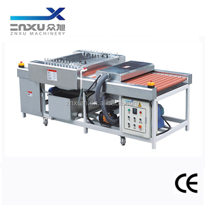 Mini Workable Size 100x100mm Horizontal Glass Washing and Drying Machine/Glass Washer ZXQX1200