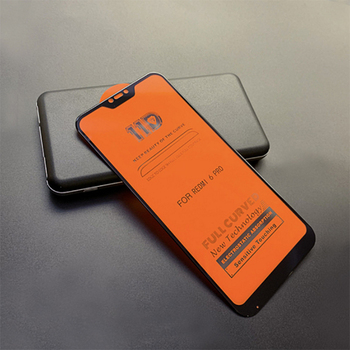 Wholesale Price 11D For Redmi 6 pro full glue full cover tempered Glass screen protector 11D hot sell model