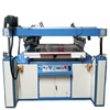 PVC /paper/ computer keypress rapid tag Plane semi auto screen printing machine