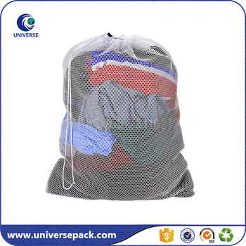 Heavy Duty Large Mesh Laundry Bag With Drawstring Clocure