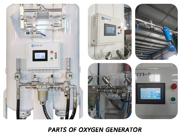 Medical And Industrial Oxygen Concentrator Price , Hospital PSA  Oxygen Gas Plant Cost Support