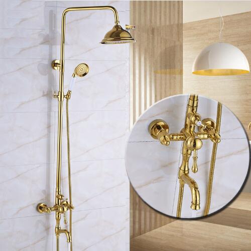 Bathroom Gold Polished Thermostatic Shower Faucet Set Résultat Supérieur 14 Beau Robinet thermostatique Pour Baignoire Photographie 2018 Kdh6