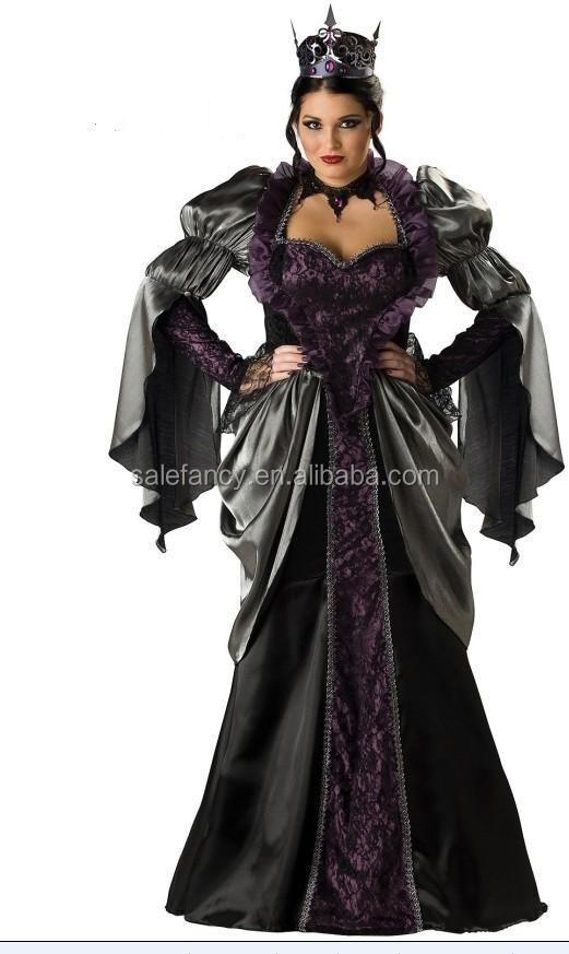 Snow White mother's clothes Halloween cosplay party costume QAWC-0217