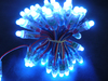12mm WS2801 rgb led Pixel light string,5V input, Square Shape, Waterproof IP68,