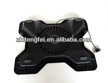 2012 Top sale new USB adjustable laptop cooler pad