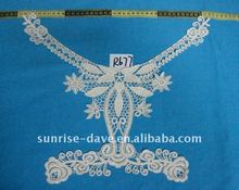 2012 new crochet collar neck lace