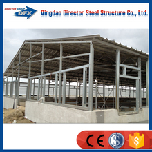 Portal frame design seel horse stable in China