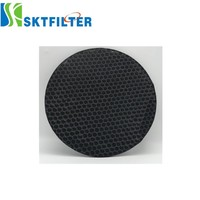 5mm Activated Carbon Filter Higher Air Permeability for IAQ/Air Purifier Application