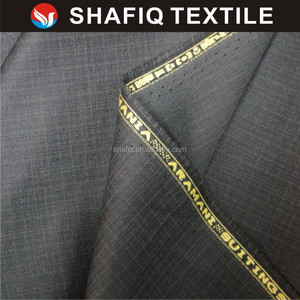 SHAFIQ textiles 100%polyester pants and uniform material plain design