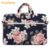 Custom Digital Printed Canvas Laptop Case Briefcase Tote Bag Computer Bag Notebooks 15.6 Inch