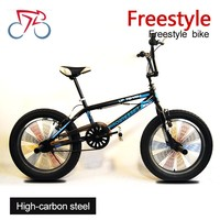 Factory direct wholesale 20inch high quality carbon steel fat tire rocker mini bmx bikes bicycle