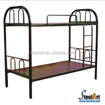 Military Heavy Duty Folding Metal Double Bunk Beds Military Metal