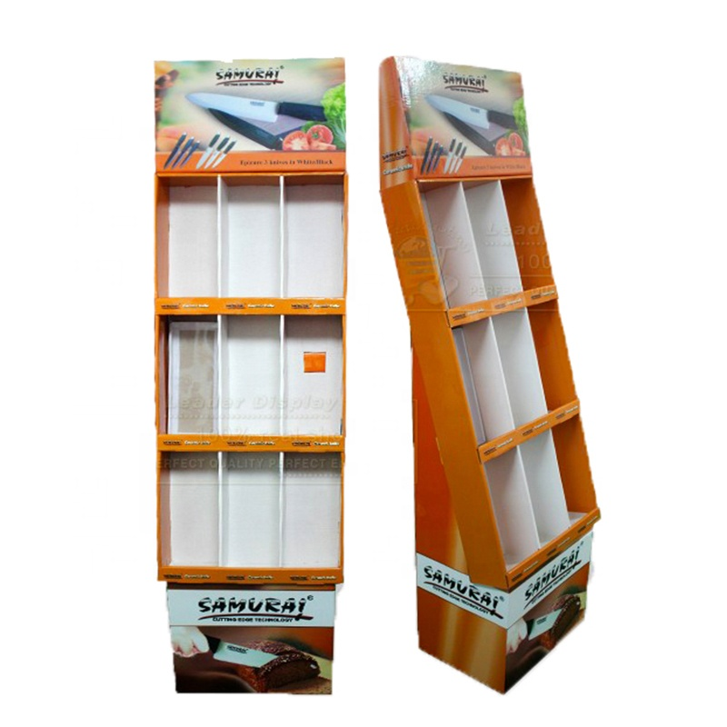 Garment Cardboard Rack , Garment Cardboard Box, Garden Tools Display Shelf