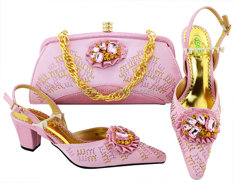 set Italian and shoes high bags party shoes clutch and bag shoes heel for matching purse Women w0tFO
