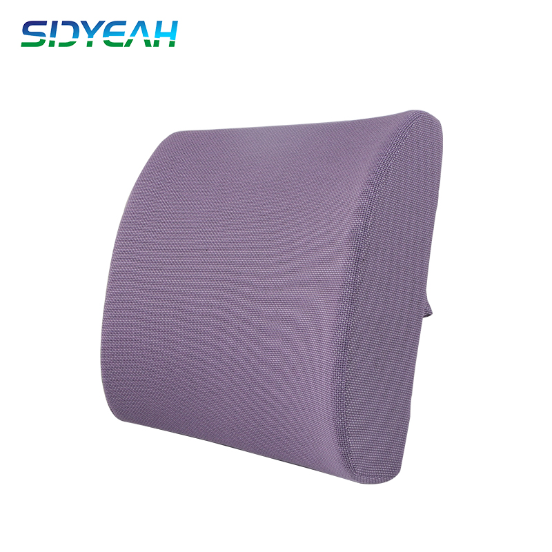 Pu Moulded Memory Foam Lumbar Support Cushion Back Car Seat Pillow Different Color Available With 3d Mesh Ventilated Fabric Buy Lumbar Support