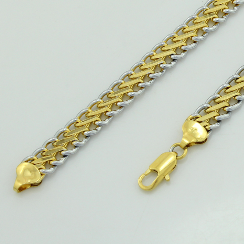 fashionable new design 18K gold chain necklace designs Necklace for men