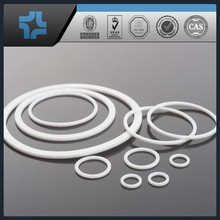 white round PTFE teflon ring plastic rings of any sizes