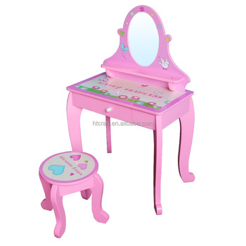 Kaptafel Voor Kinderen.Pr109 Prinses Ontwerp Leuke Roze Kinderen Indoor Meubels Mdf Houten