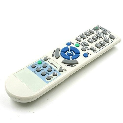 Premium Quality Generic Universal Compatible Replacement Projector Remote Control Fit For NEC Projector np905+ m420x np2150+ np50+ np216+ vt491+ np2000+ LT375+ VT700+ vt49+ 1 Year Warranty