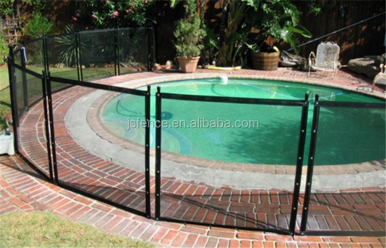 Galvanized Portable Mesh Pool Aluminum Fencemesh Pool Fence