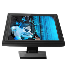 square lcd display VGA DVI USB port 17 Inch Touch Screen LCD POS Monitor