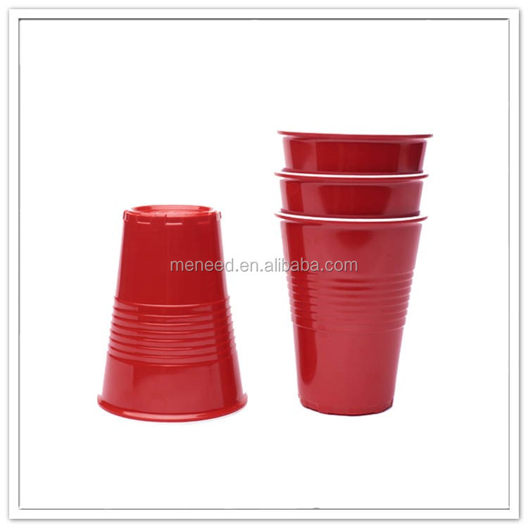New customized 100% melamine cups plastic for party use