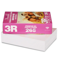 260gsm (3*5 inches) Inkjet RC Semi Glossy Photo Paper