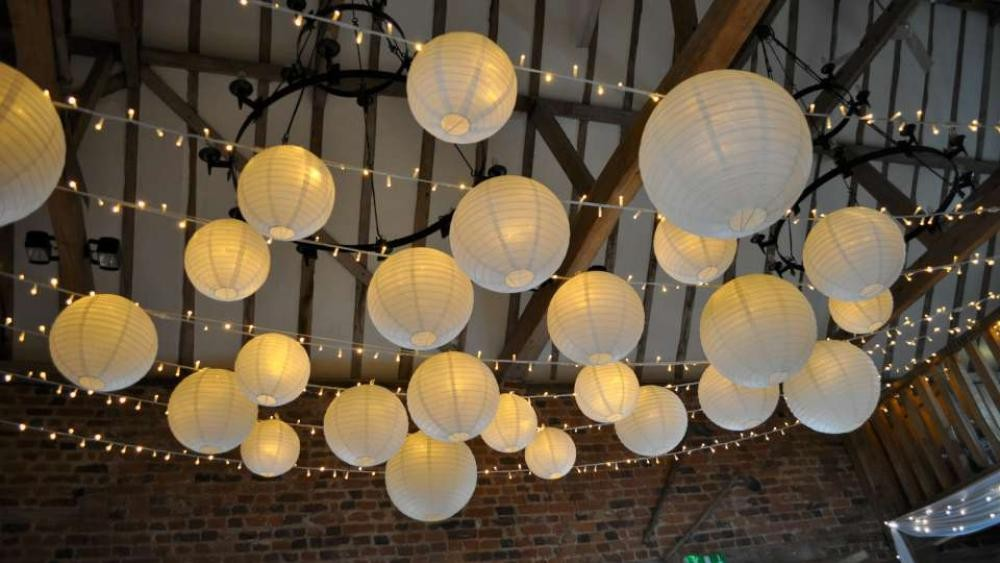 Cute Outdoor Japanese Lantern Decorations Garden Hanging Lantern ...
