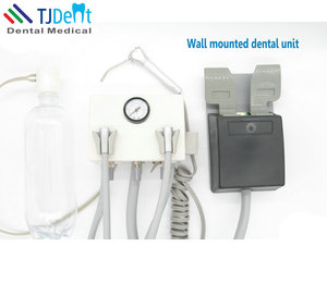 Small Size Convenient Plug & Use Wall Hanging Type Dental Unit