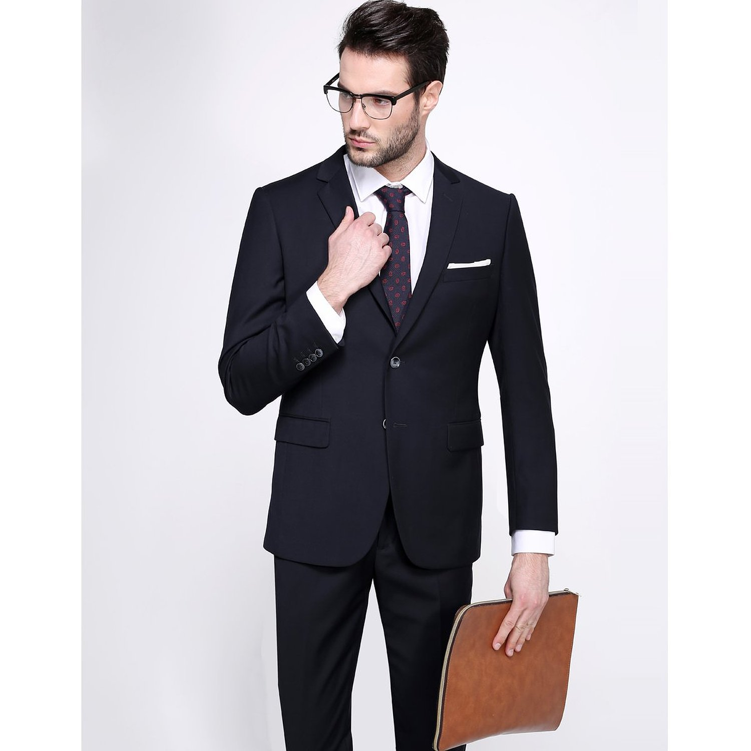 Fashion week Business full suit for men photo for girls