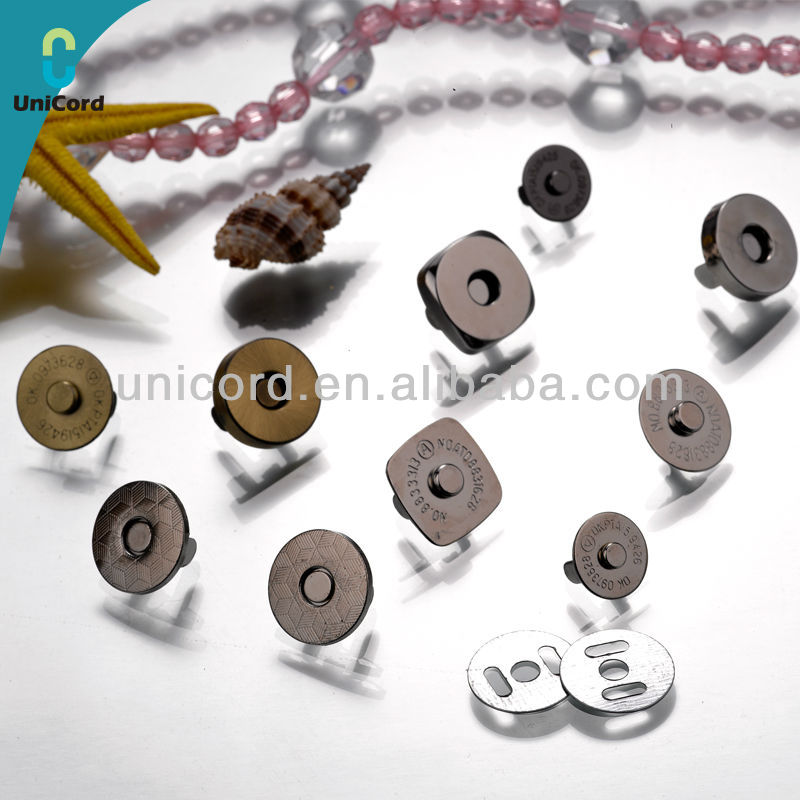 Magnetic Button Magnetic snap button Magnetic fastener for Bags
