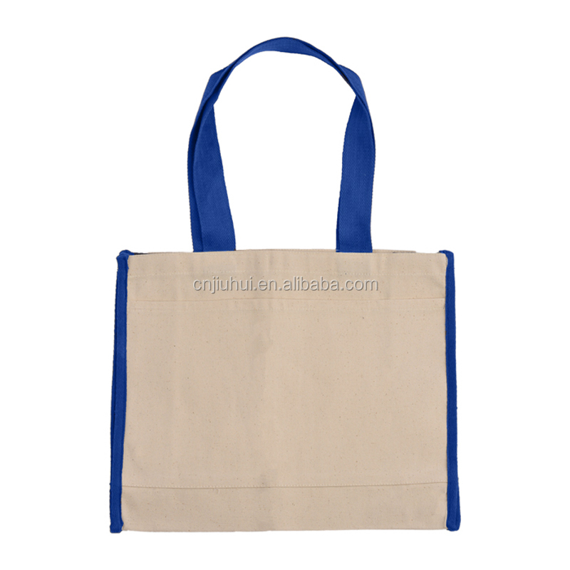 China factory direct quality premium tote bag 100% cotton canvas shopping bag