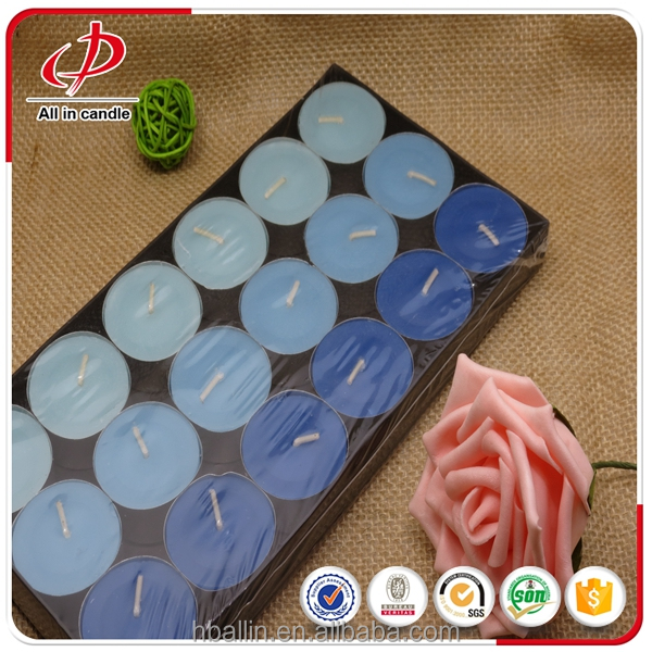 Pressed Pure Paraffin Wax Scented Tealight Candle on wholesale