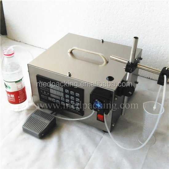 Liquid Quantitative Filling Machine With High Precision Micro Dosage Creeping Pump