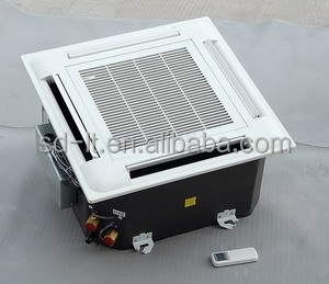 Cassette Ceiling Mounted Type Fan Coil Unit With Chiller