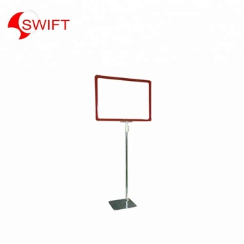 Welcome acrylic advertising signage sign price board A1 A2 A4 A5 holder floor stand