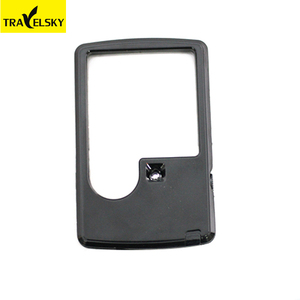 13861 Custom wholesale small led rectangular magnifying glass with light