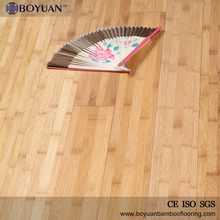 2017 China manufacturer carbonized horizontal solid bamboo flooring