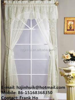 Macrame Lace Curtains Kitchen Shower Curtain