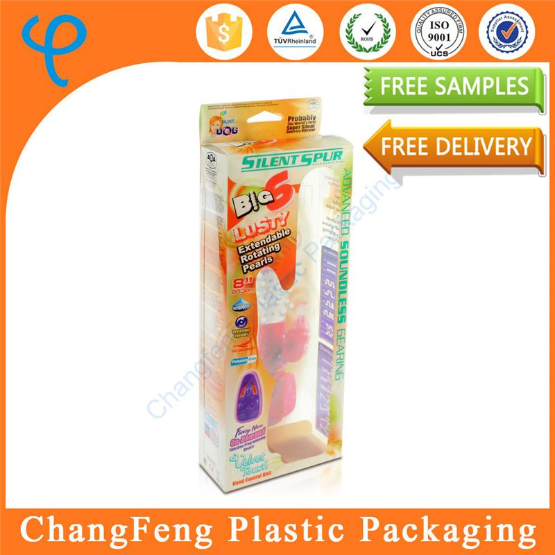 2016 Popular PVC hard disposable plastic box for sexy toy packing