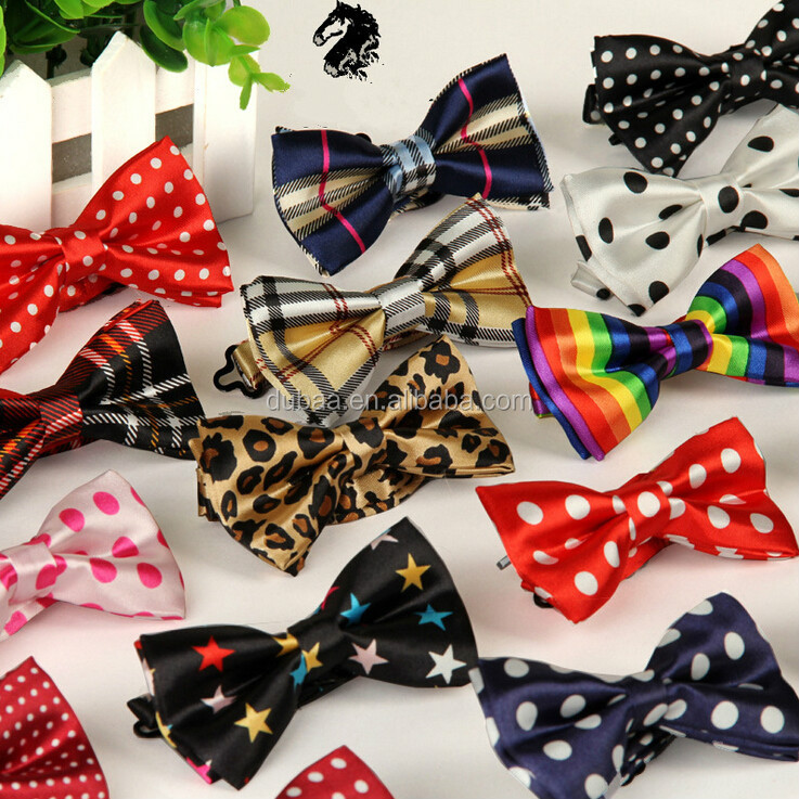 Colorful Polka Dots Bow Tie,Adjustable Bowtie Fashion Accessory ...