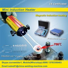 Magnetic induction heater for bolt remove