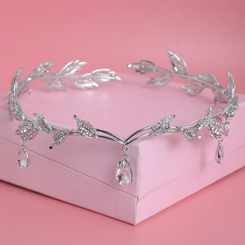 Wedding Crown Hair: Crystal Crown Bridal Hair Accessory Wedding Rhinestone