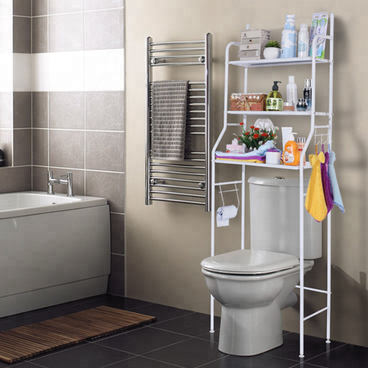 E Saving Bathroom Shelving Unit