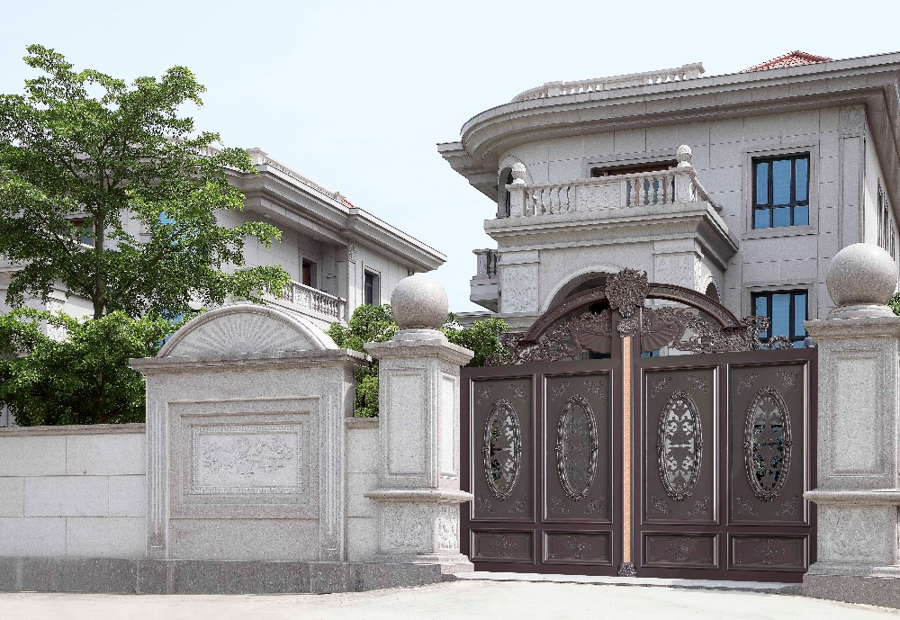 2016 Decorative Aluminum Gates Prices Main Entrance Gate Design ...