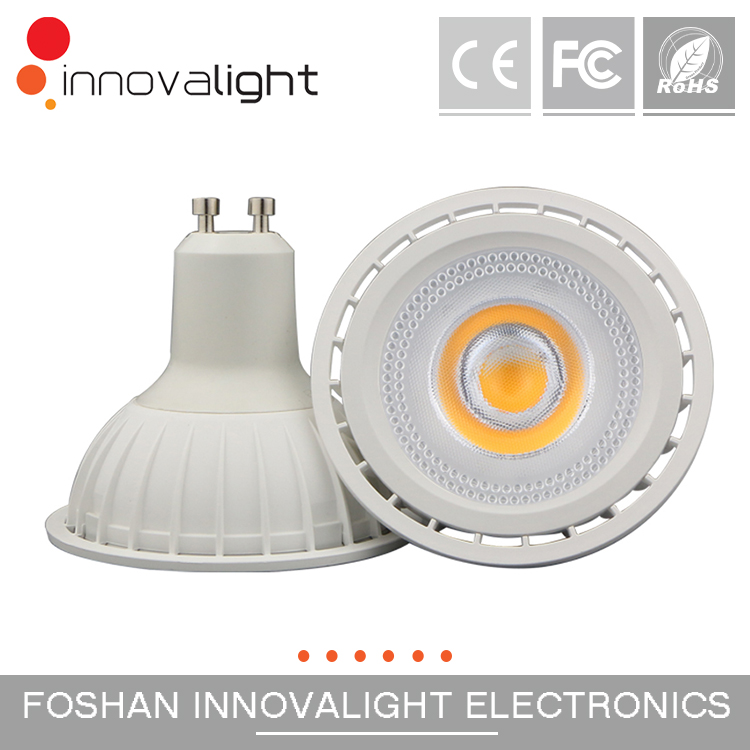 INNOVILIGHT new design 61mm height 8w cob gu10 ar70 led