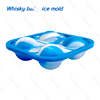 Easy Release Custom Silicone Ice Cube Tray With Stainless Steel Shelf In More Convenience