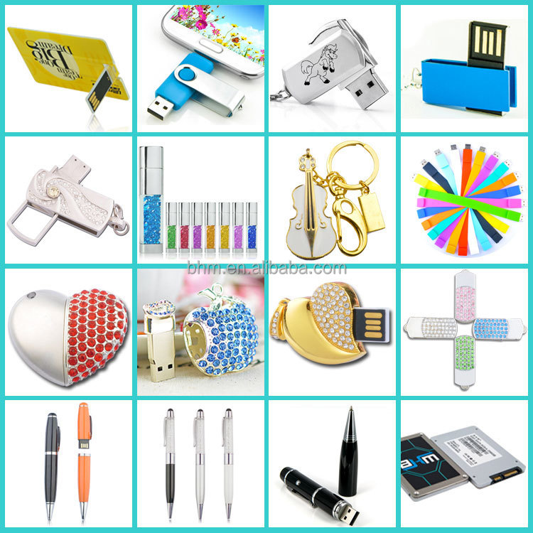 High speed USB 2.0 + Micro USB (OTG) personalized pen drive